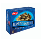 HEM Frankincense and Myrrh Incense Cones