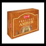HEM Amber Incense Cones