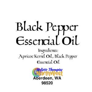 Black Pepper Essential Oil 10ml Bottle