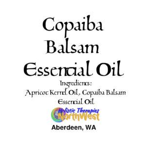 Copaiba Balsam Oleoresin 10ml Bottle